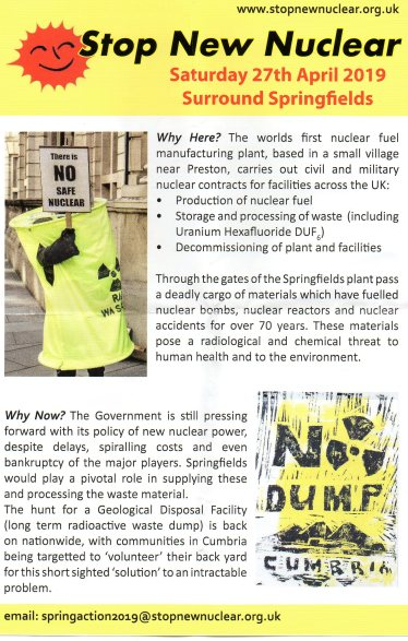 Nuclear flyer
